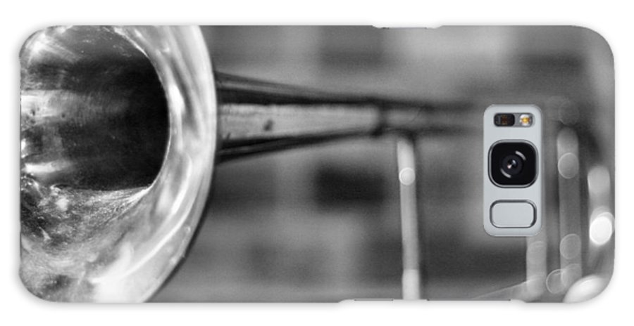 'music Galaxy S8 Case featuring the photograph Trombone by David Hubbs