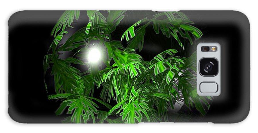 Foliage Galaxy S8 Case featuring the digital art Tropical Depression by Robert Orinski