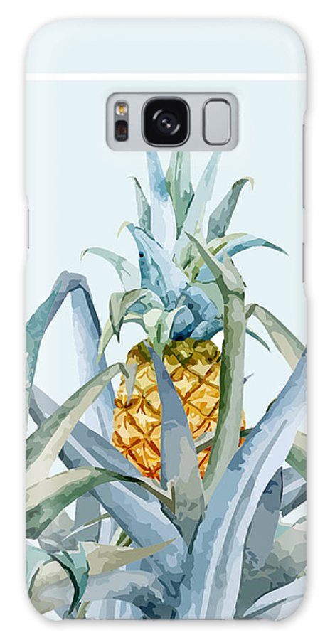 Summer Galaxy Case featuring the painting Tropical Feeling by Mark Ashkenazi