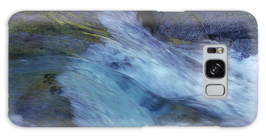 Nature Galaxy Case featuring the photograph Tropical Flowing Waters by Kerryn Madsen- Pietsch