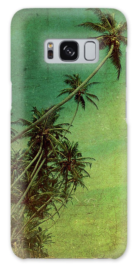 Palm Galaxy S8 Case featuring the photograph Tropical Vestige by Andrew Paranavitana