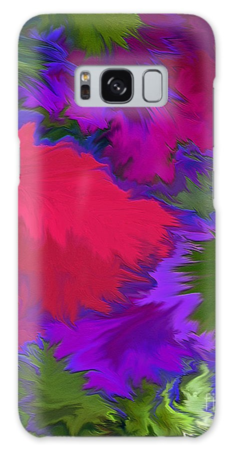 Mixed Media Art Galaxy S8 Case featuring the photograph Tropicana by Patricia Griffin Brett