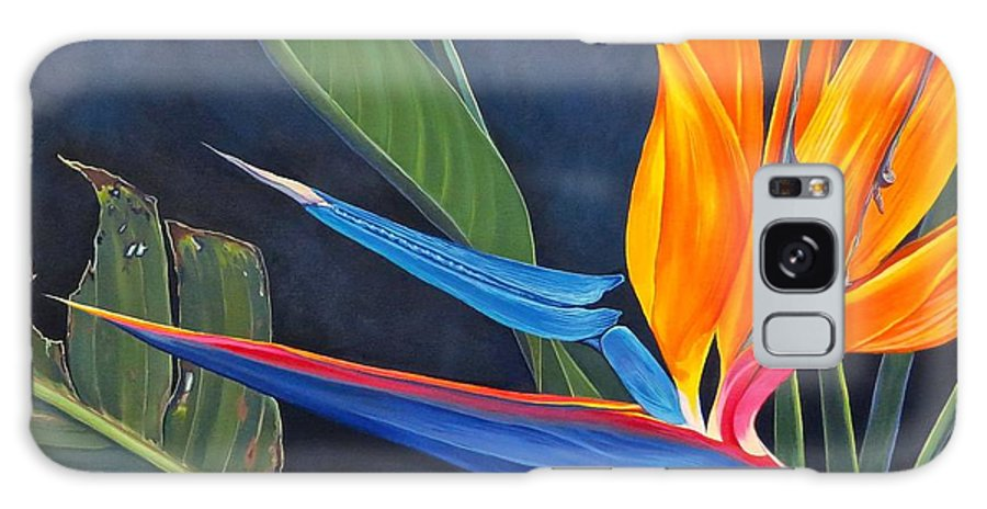 Botanical Galaxy Case featuring the painting Tropicoso by Hunter Jay