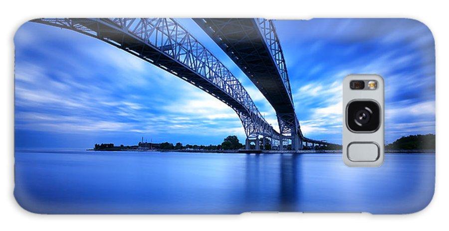 Port Galaxy S8 Case featuring the photograph True Blue View by Gordon Dean II