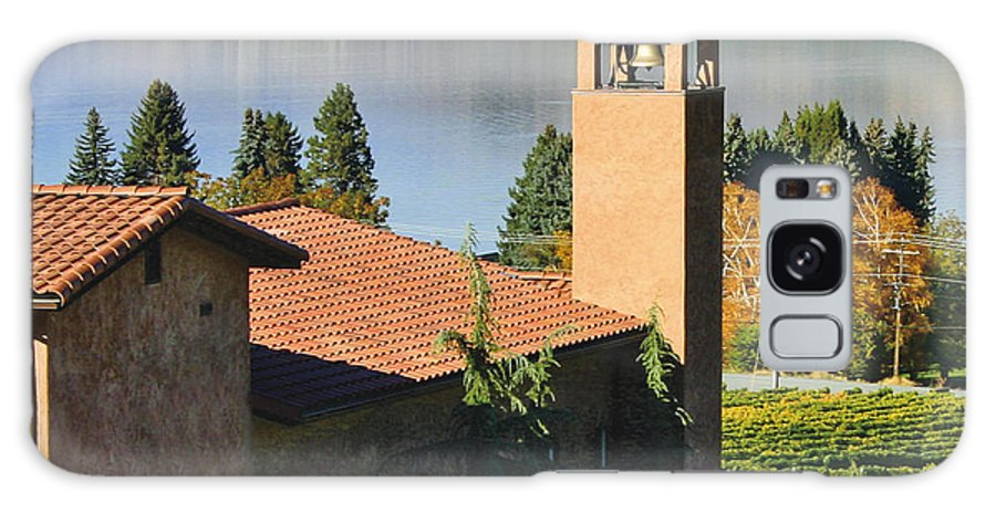 Pictures Of Washington State Galaxy S8 Case featuring the photograph Tsillan Cellars Winery by Wendy Raatz Photography