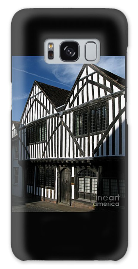 Tudor Galaxy Case featuring the photograph Tudor Timber by Ann Horn
