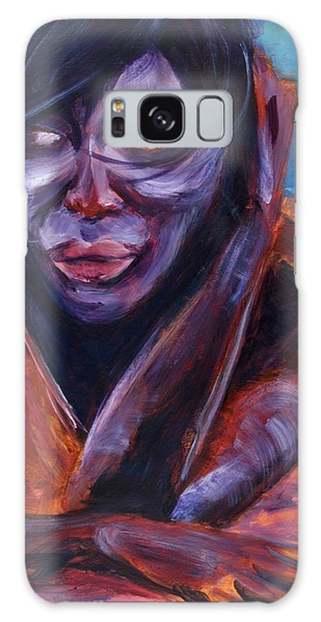 Girl Galaxy S8 Case featuring the painting Tuesday by Jason Reinhardt