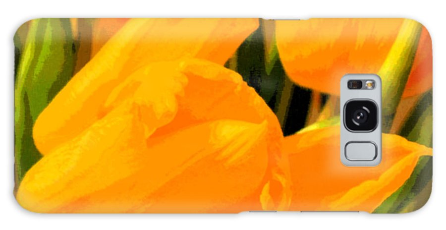 Tulip Galaxy Case featuring the photograph Tulips by Amanda Barcon