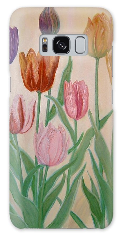 Flowers Of Spring Galaxy S8 Case featuring the painting Tulips by Ben Kiger
