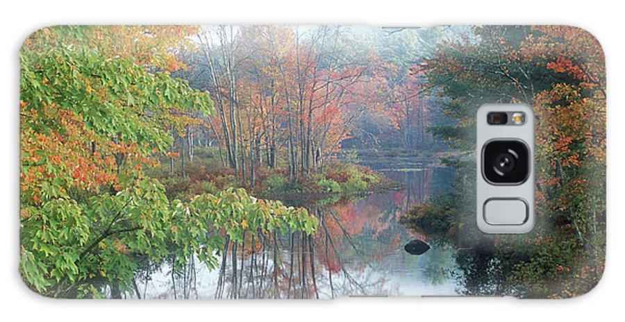 Autumn Galaxy S8 Case featuring the photograph Tully River Autumn by John Burk