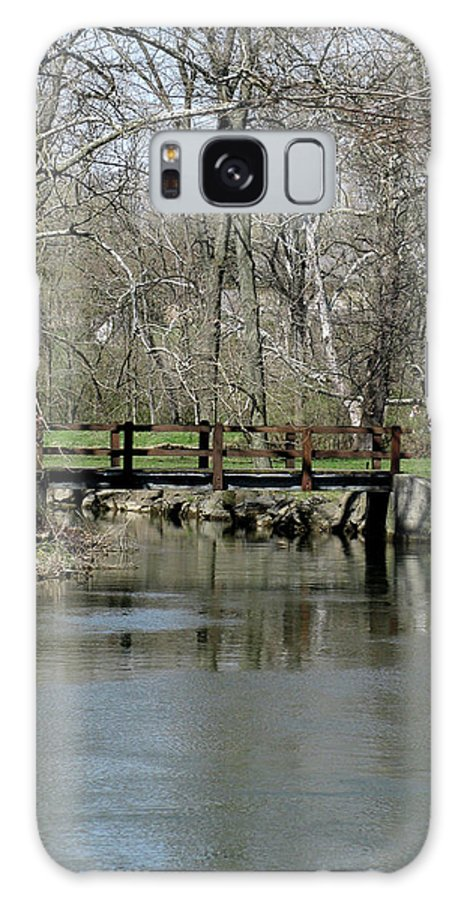Bridge Galaxy S8 Case featuring the photograph Tulpehocken Creek by Donna Brown