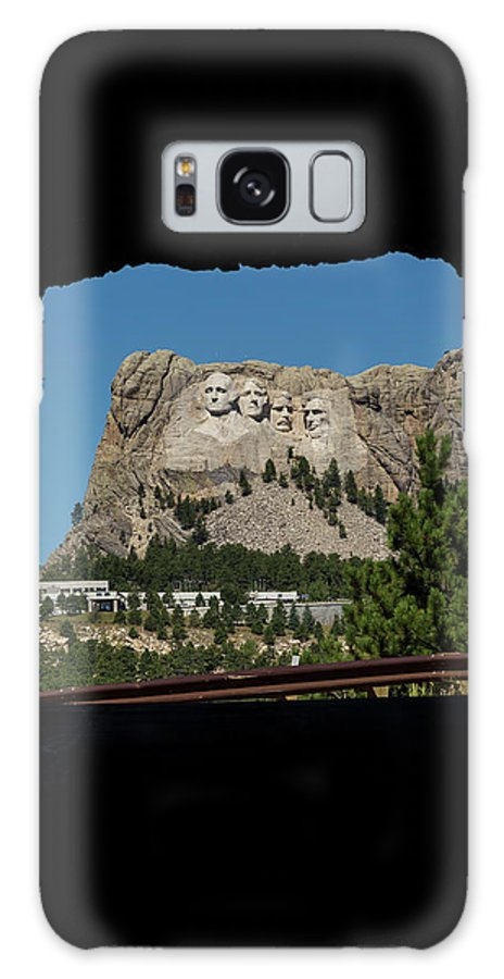 Mt Galaxy S8 Case featuring the photograph Tunnel View Mt Rushmore 2 A by John Brueske