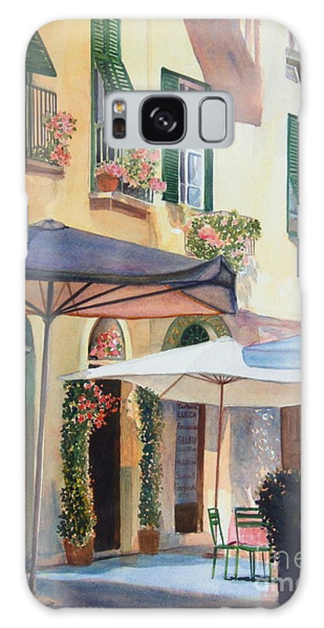 Tuscan Galaxy Case featuring the painting Tuscan Sunlight by Ann Cockerill