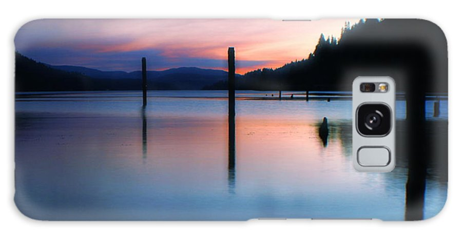 Dusk Galaxy S8 Case featuring the photograph Twilight by Idaho Scenic Images Linda Lantzy