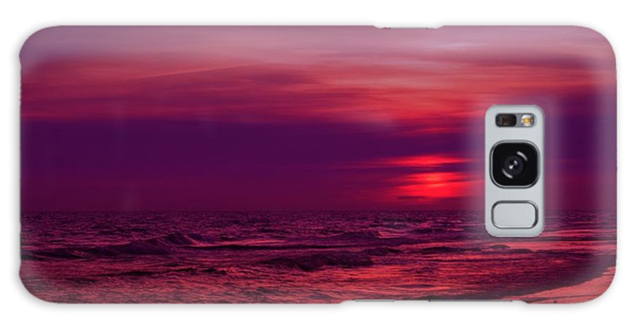 Panama City Beach Galaxy S8 Case featuring the photograph Twilight by Sandy Keeton