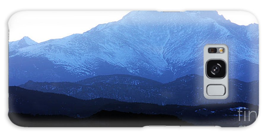 Twin Peaks Galaxy S8 Case featuring the photograph Twin Peaks Blues by James BO Insogna