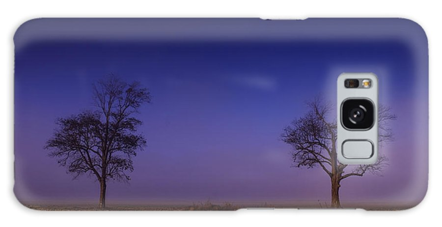 Tree Galaxy S8 Case featuring the photograph Twin Trees In The Mississippi Delta by T Lowry Wilson