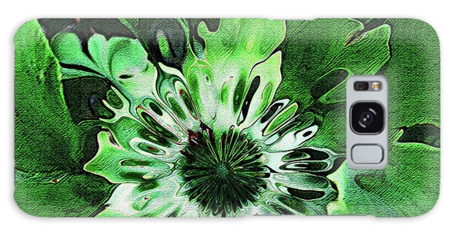 Leaves Galaxy S8 Case featuring the digital art Twisted Leaves by Joan Minchak