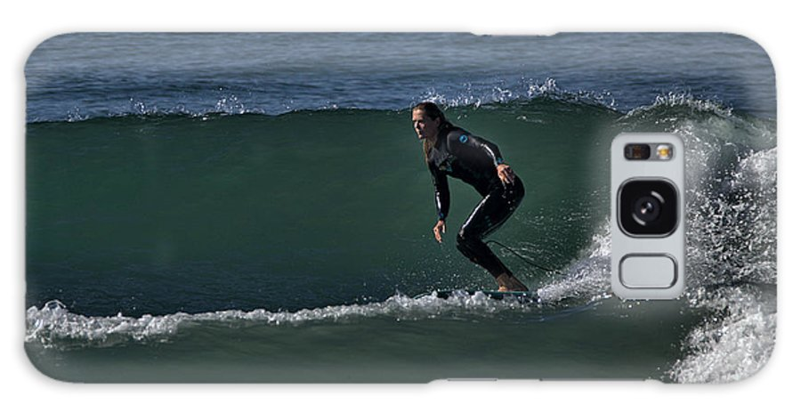 Surf Galaxy S8 Case featuring the photograph Two For The Price Of One by Michael Gordon