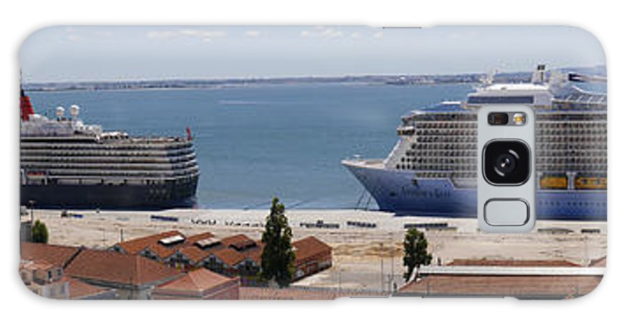 Lisbon Galaxy S8 Case featuring the photograph Magnificent Cruises by Brenda Kean