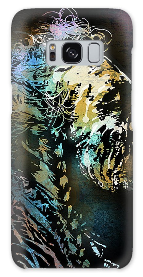 Native Americans Galaxy S8 Case featuring the painting Two Whistles by Paul Sachtleben