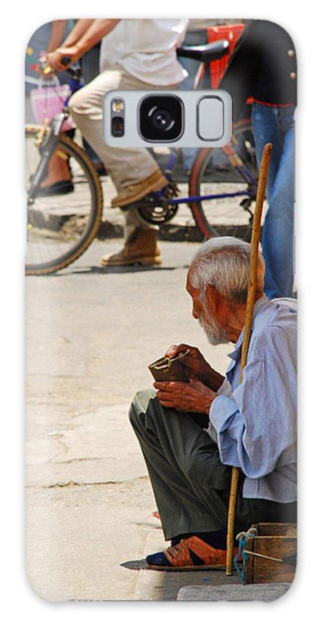 Beggar Galaxy S8 Case featuring the photograph Un Peso Por Favor by Skip Hunt
