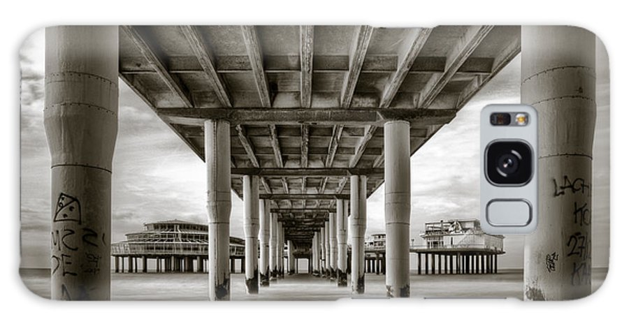 Pier Galaxy S8 Case featuring the photograph Under The Boardwalk by Dave Bowman