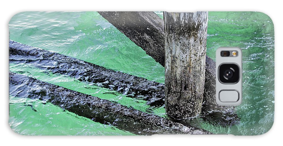 Water Galaxy S8 Case featuring the photograph Under The Boardwalk by Stephen Mitchell