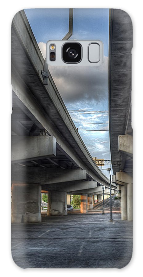 Concrete Galaxy S8 Case featuring the photograph Under The Overpass II by Break The Silhouette