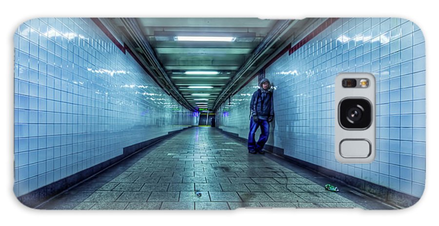 Subway Galaxy S8 Case featuring the photograph Underground Inhabitants by Evelina Kremsdorf