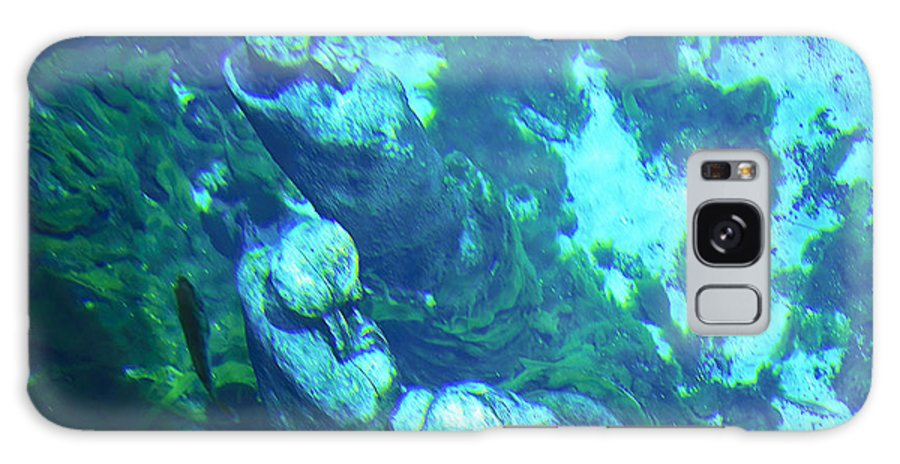 Statue Galaxy S8 Case featuring the photograph Underwater Statues by Kenneth Albin
