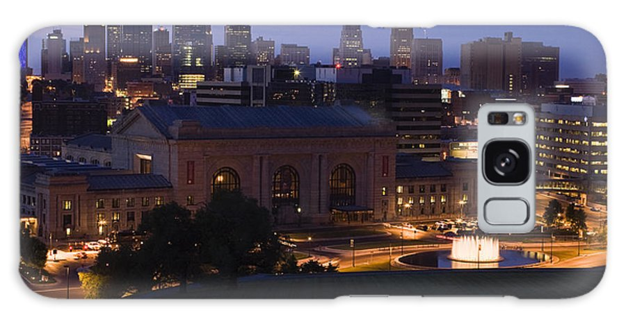 Union Station Galaxy Case featuring the photograph Union Station Kansas City by Chad Davis