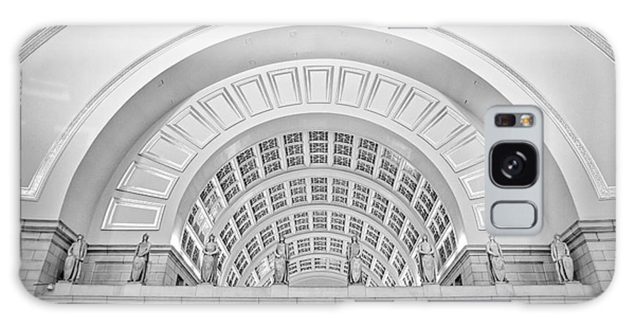 Union Station Galaxy S8 Case featuring the photograph Union Station Washington Dc by Susan Candelario