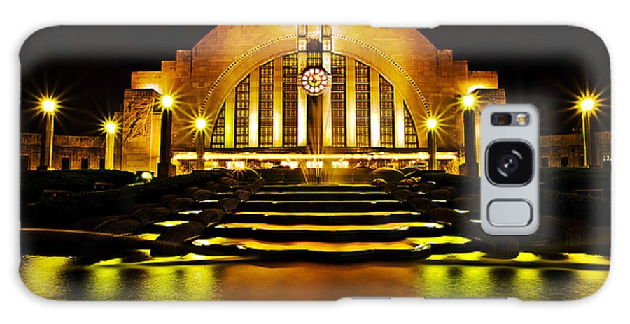 Union Terminal Galaxy S8 Case featuring the photograph Union Terminal by Keith Allen