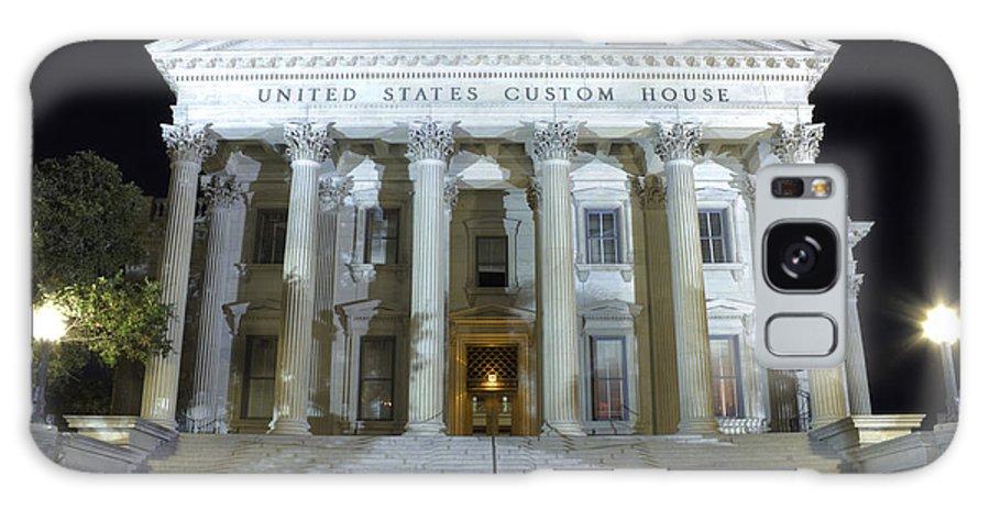 Us Customs House Charleston South Carolina Sc Historic Dustin Ryan United States Galaxy S8 Case featuring the photograph United States Custom House by Dustin K Ryan
