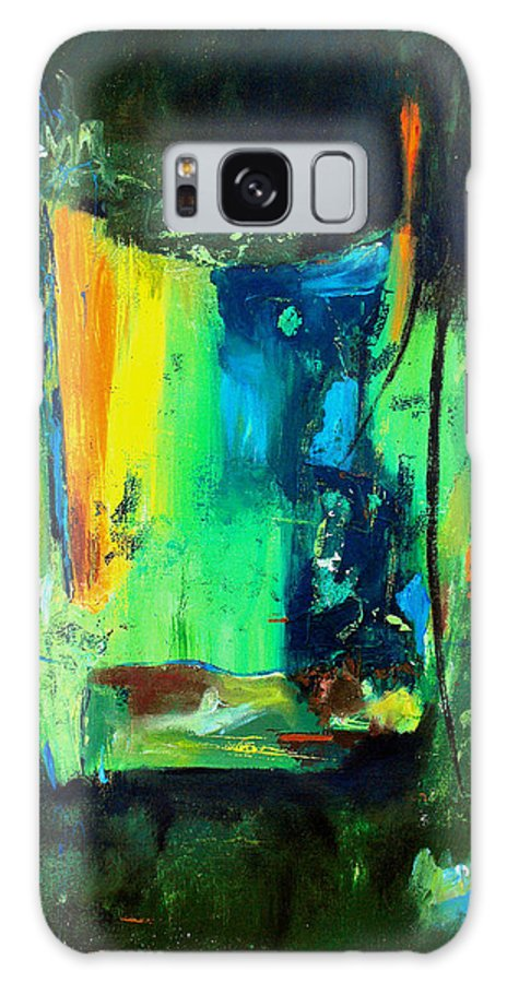 Abstract Galaxy S8 Case featuring the painting Unity In The Body by Ruth Palmer