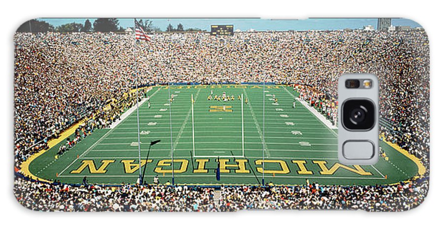 Photography Galaxy S8 Case featuring the photograph University Of Michigan Stadium, Ann by Panoramic Images