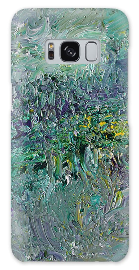 Fusionart Galaxy Case featuring the painting Blind Giverny by Ralph White