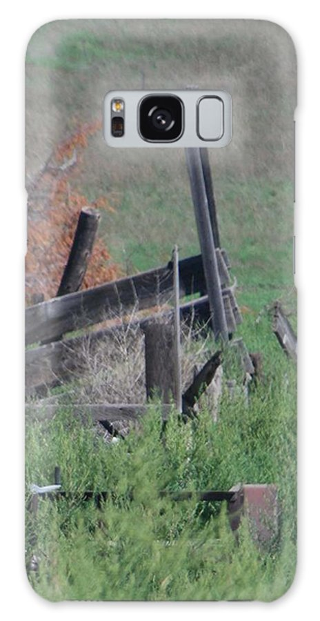 Farm Galaxy S8 Case featuring the photograph Untended Fences by Margaret Fortunato