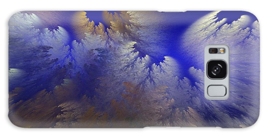 Abstract Digital Painting Galaxy S8 Case featuring the digital art Untitled 11-1-09 by David Lane