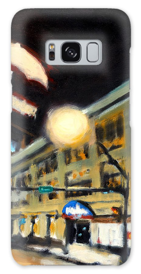 Rob Reeves Galaxy S8 Case featuring the painting Untitled by Robert Reeves