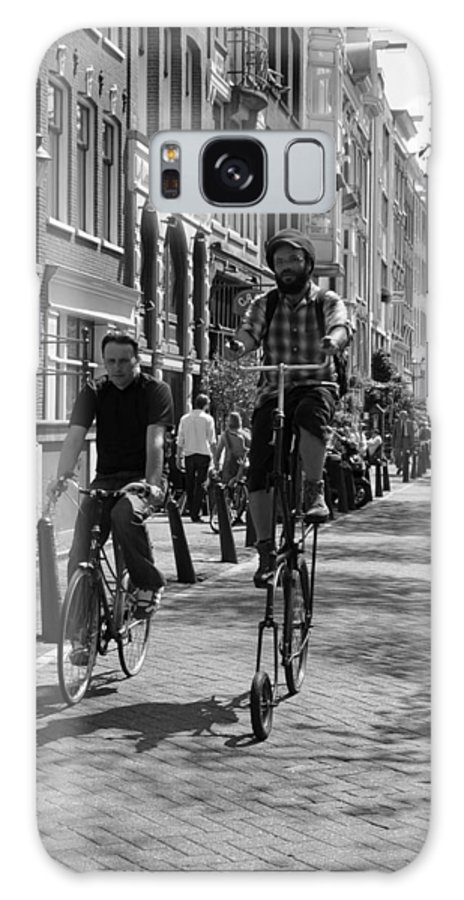 Bicycles Galaxy S8 Case featuring the photograph Unusual Cycles by Noah Cole