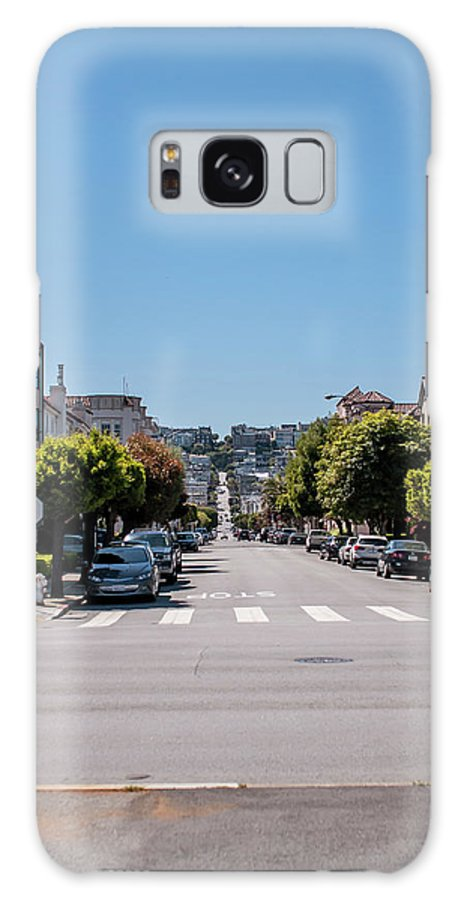 San Francisco Galaxy S8 Case featuring the photograph Up The Divisadero by Andrew Hollen