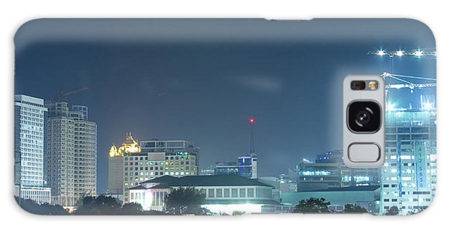 Insogna Galaxy S8 Case featuring the photograph Up Town Cebu City Lights by James BO Insogna