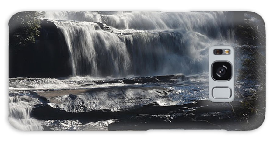 Waterfalls In North Carolina Galaxy S8 Case featuring the photograph Upperfalls by Mike Fairchild