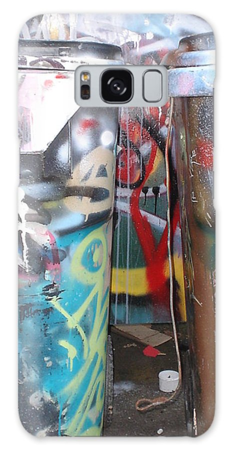 Urban Abstract Art Galaxy S8 Case featuring the photograph Urban Art by Chandelle Hazen