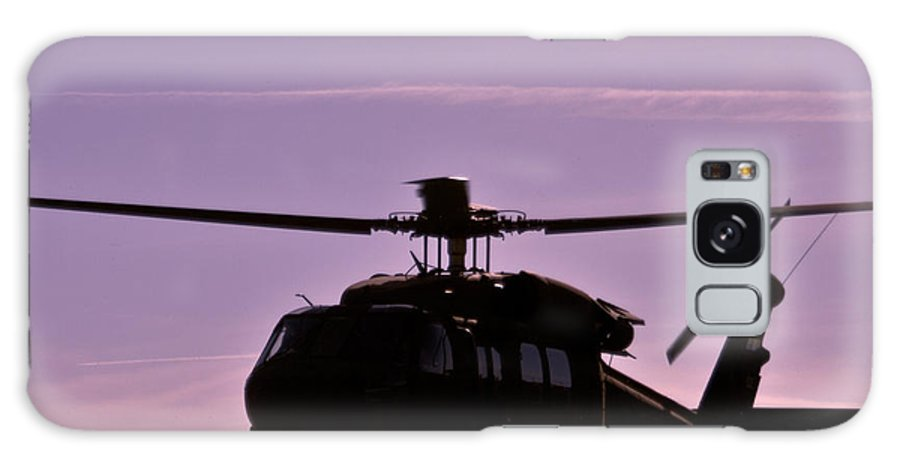 Helicopter Galaxy S8 Case featuring the photograph Us Army Blackhawk by Brenton Woodruff