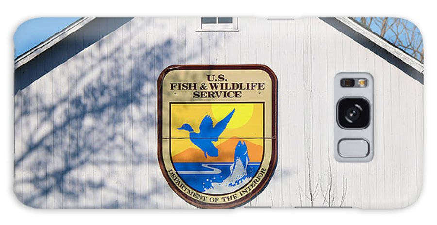 Jack Schultz Photography Galaxy S8 Case featuring the photograph Us Fish And Wildlife Service Sign 3931 by Jack Schultz