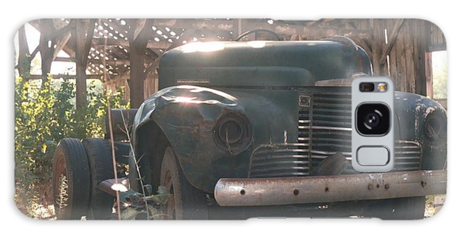 Truck Galaxy S8 Case featuring the photograph Used Up Truck by Shirley Shoopman