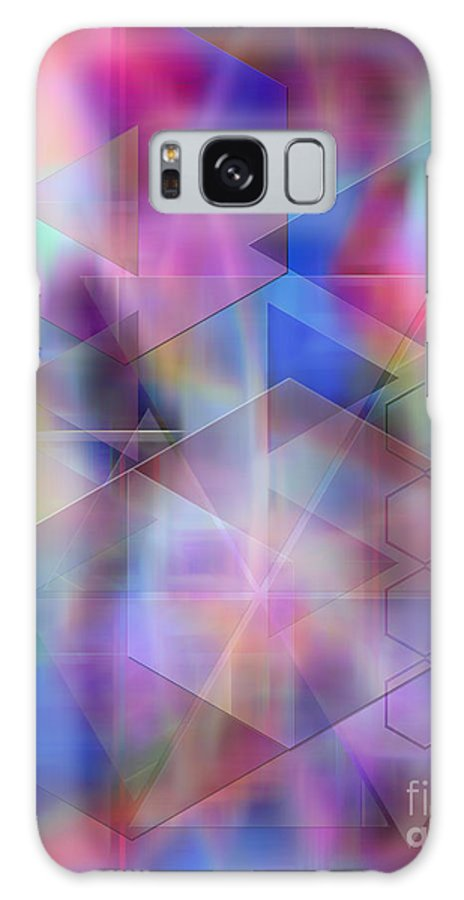 Usonian Dreams Galaxy S8 Case featuring the digital art Usonian Dreams by John Beck